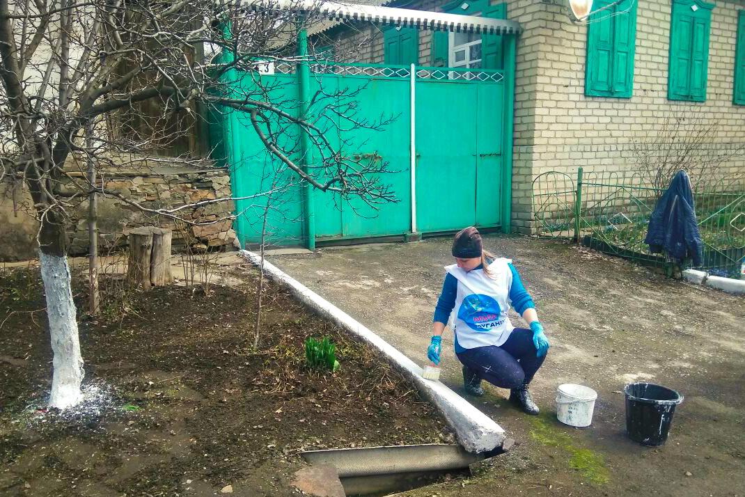 Активисты Городищенского первичного отделения помогли пожилому жителю посёлка