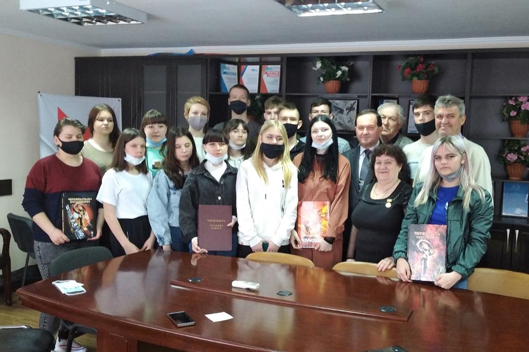 В Свердловске прошла встреча-беседа молодежи с участниками ликвидации последствий аварии на ЧАЭС