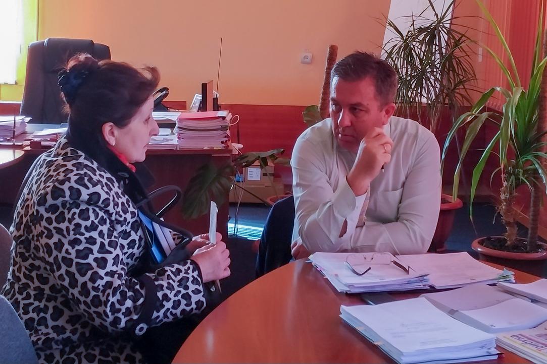 В Перевальске Виталий Михайлов провёл личный приём граждан
