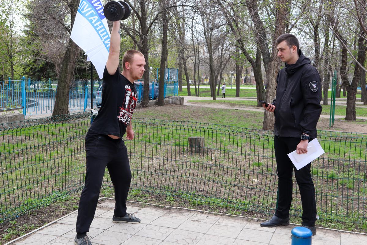В Луганске прошло соревнование по кроссфиту организованное проектом «Дружина» ОД «Мир Луганщине» 2