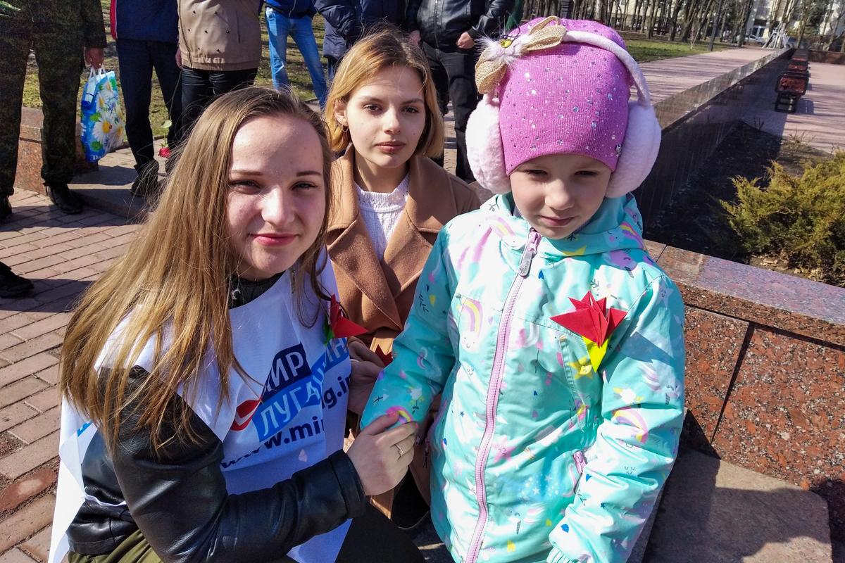 Активисты ОД «Мир Луганщине» во всех городах и районах ЛНР провели мероприятия, посвящённые 7-й годовщине взятия СБУ 7