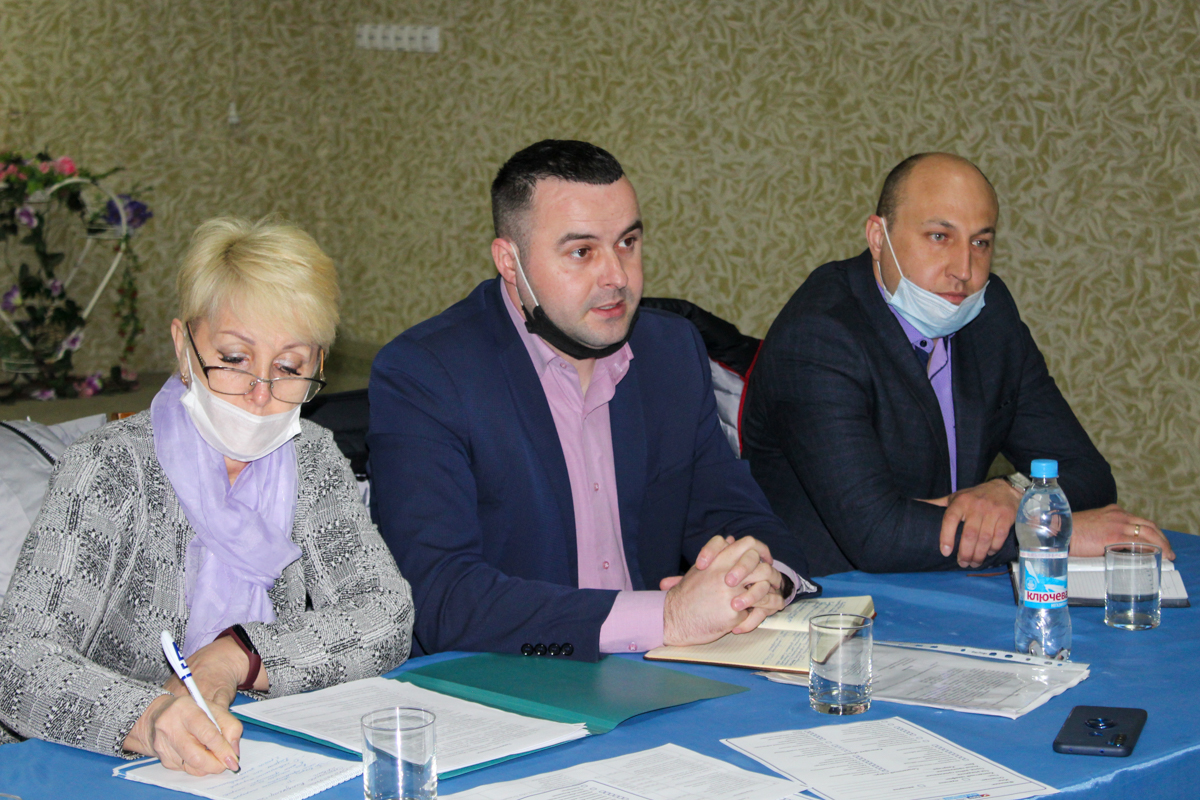Руководитель Славяносербского теротделения ОД «Мир Луганщине» встретилась с активистами первичного отделения