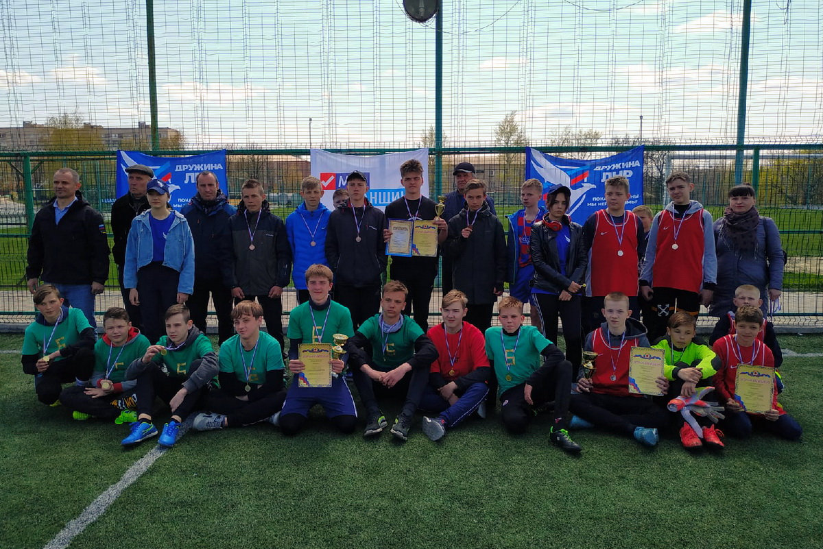 «20 дней здоровья» – в Свердловске прошел турнир по мини-футболу