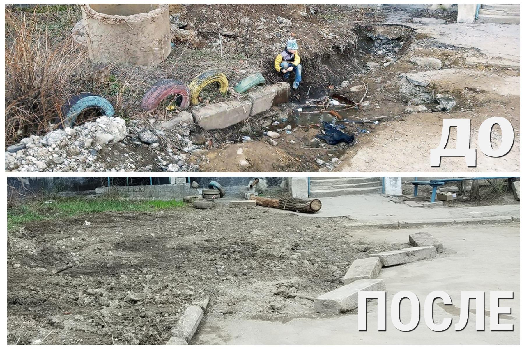 Роман Лысенко помог устранить разрытие возле алчевской многоэтажки