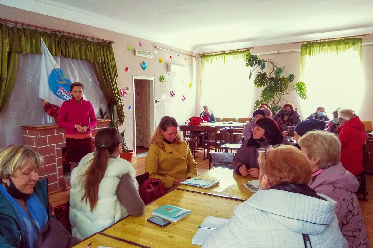 В Стаханове состоялась встреча активистов первичного отделения ОД «Мир Луганщине»
