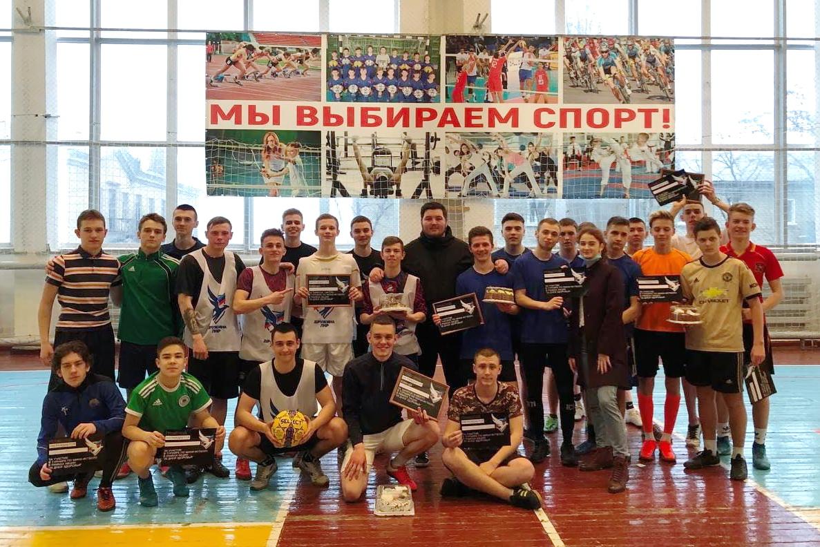 В Стаханове состоялся турнир по мини-футболу в рамках акции «20 дней здоровья» проекта «Дружина»