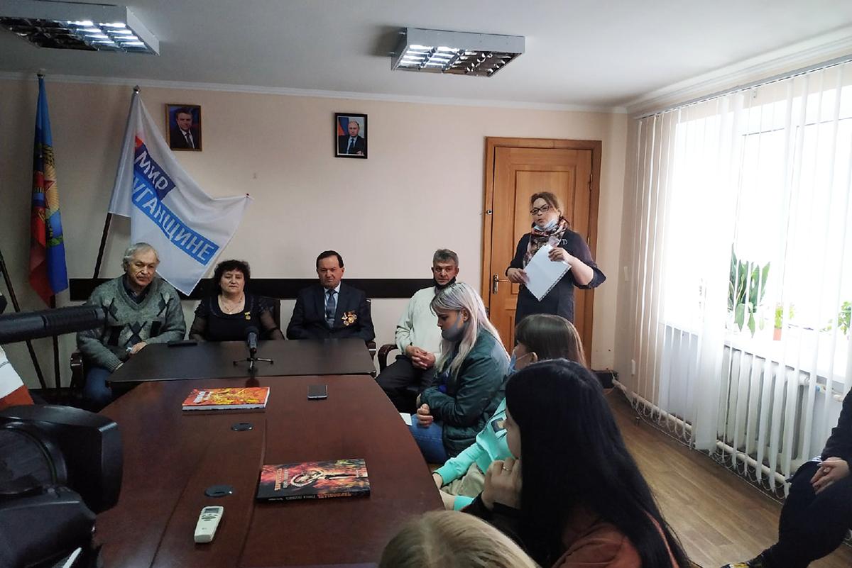 В Свердловске прошла встреча-беседа молодежи с участниками ликвидации последствий аварии на ЧАЭС 2