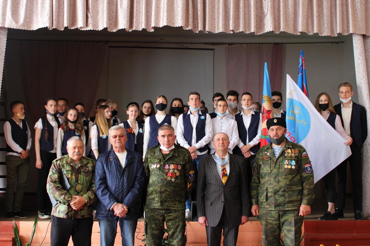 В Стахановской школе № 32 прошло патриотическое мероприятие «Майдан. События войны на Донбассе»