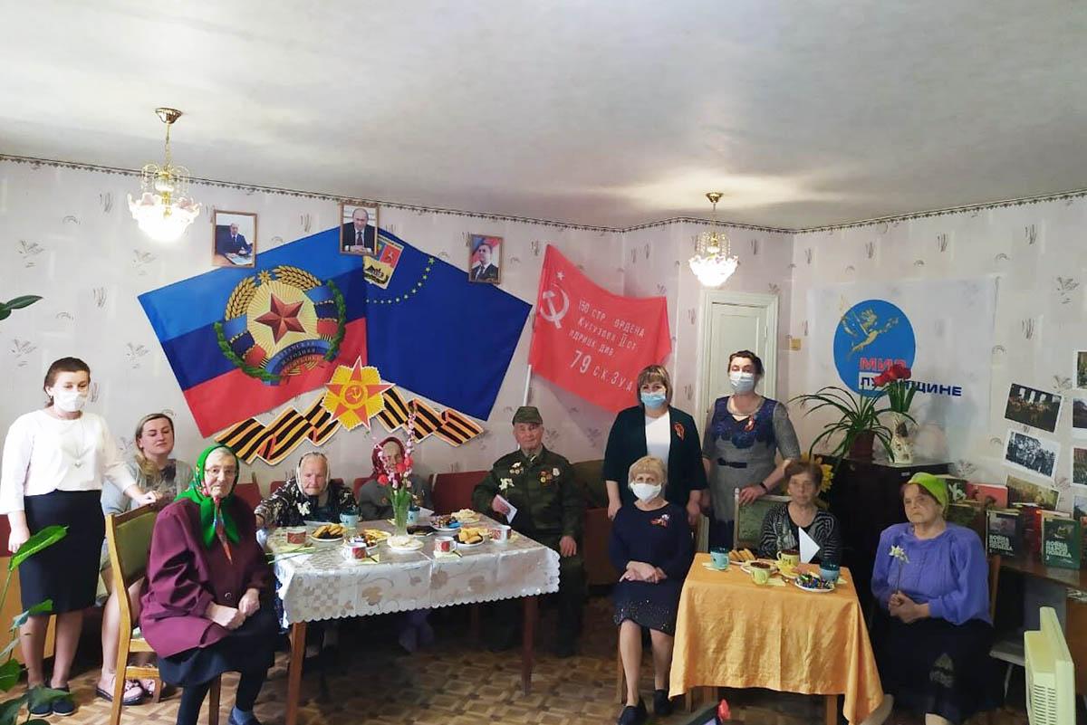 Встреча с ветеранами Великой Отечественной войны и труда состоялась в селе Степовое