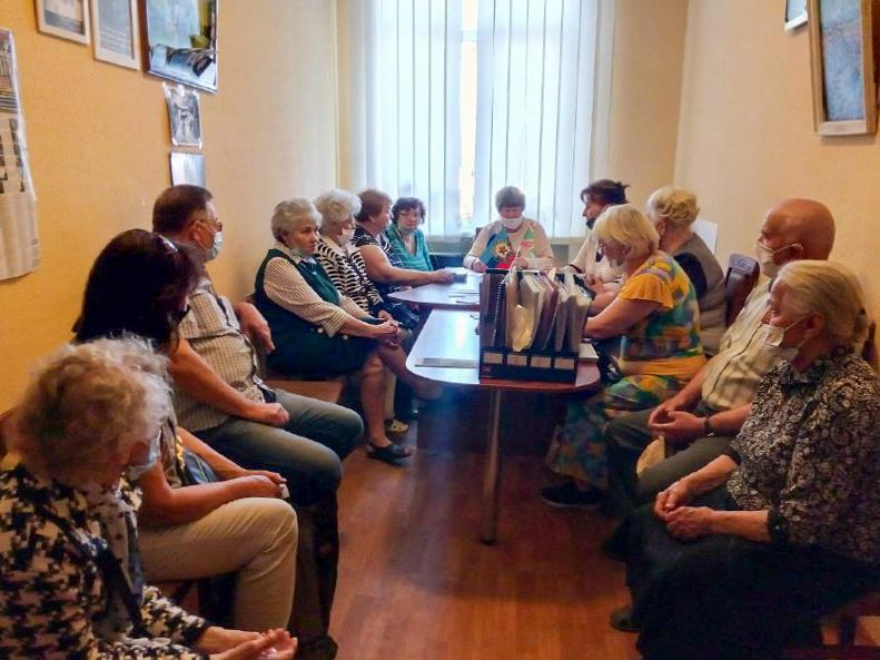 В Перевальске состоялась встреча участников ветеранского актива