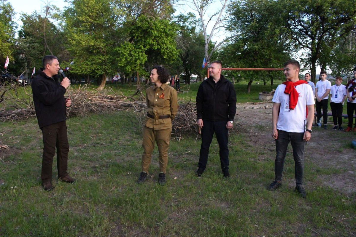В ЛНР для лидеров проекта «Молодая Гвардия» провели посвящение 5