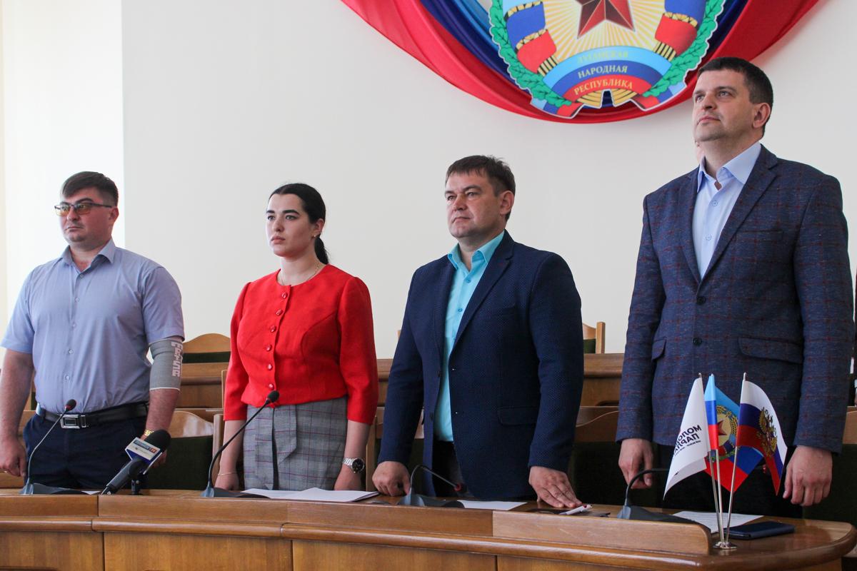 Депутаты Молодёжного парламента ЛНР провели первое пленарное заседание 2