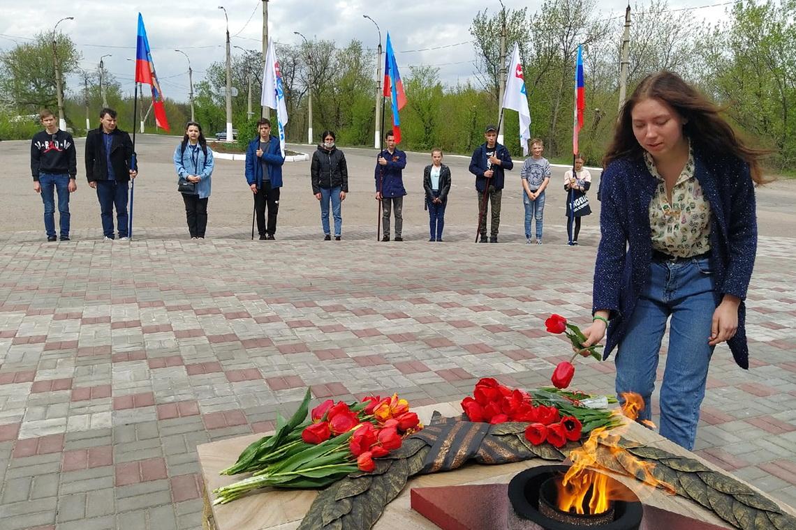 Память погибших в Одессе почтили жители разных городов ЛНР 1