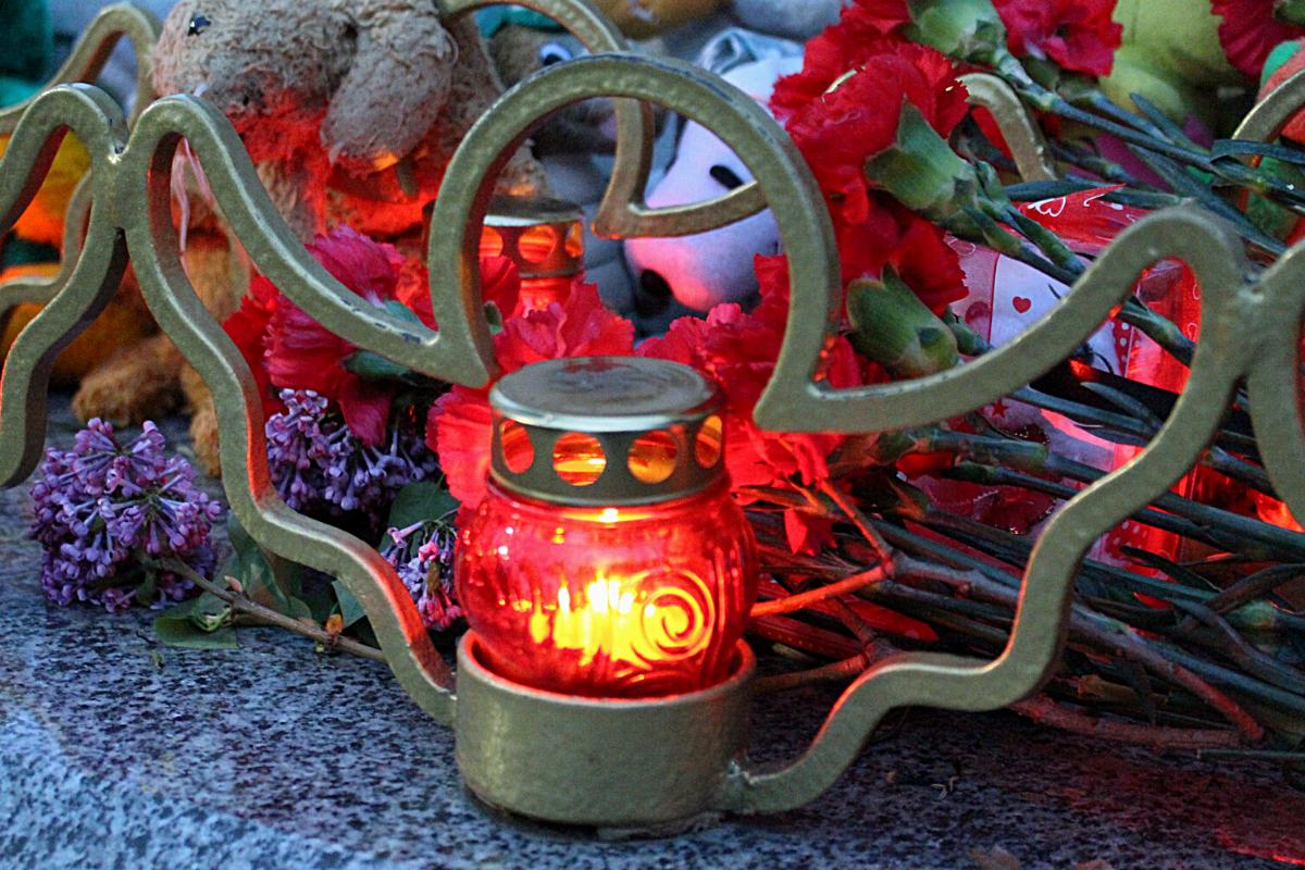 В Луганске активисты почтили память жертв трагедии в Казани
