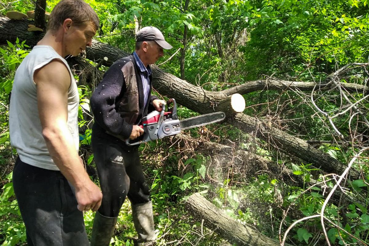 Активисты из Миусинска провели субботник у реки и ликвидировали затор