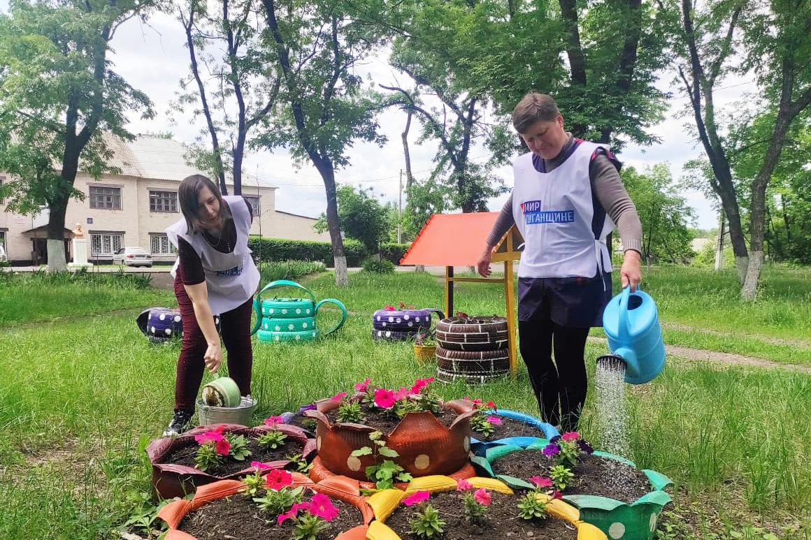 Активисты Дзержинского первичного отделения провели субботник