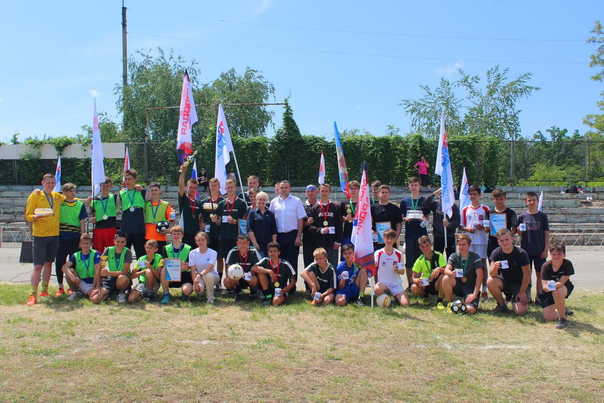 Турнир по мини-футболу «Фронтовые ворота» прошёл в Славяносербске