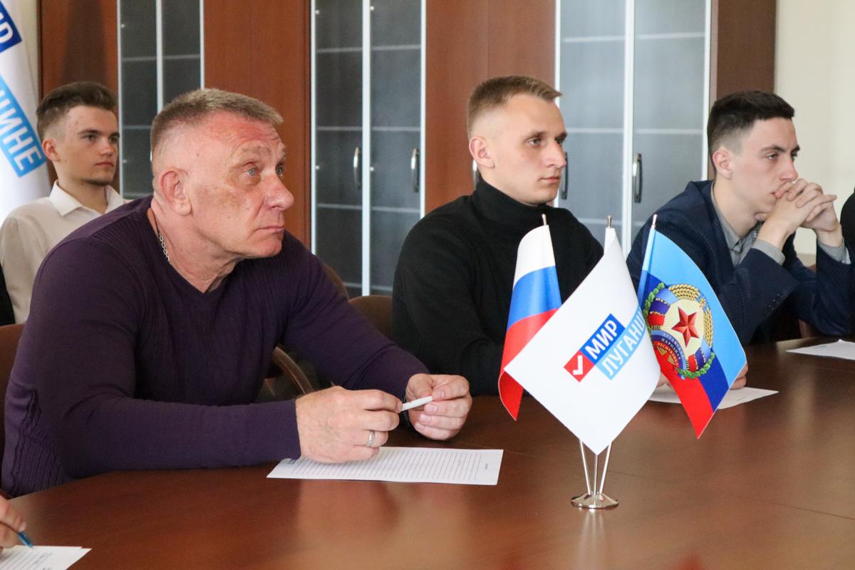 Представители ЛНР приняли участие в международном телемосте, посвящённом 76-летию Победы 2