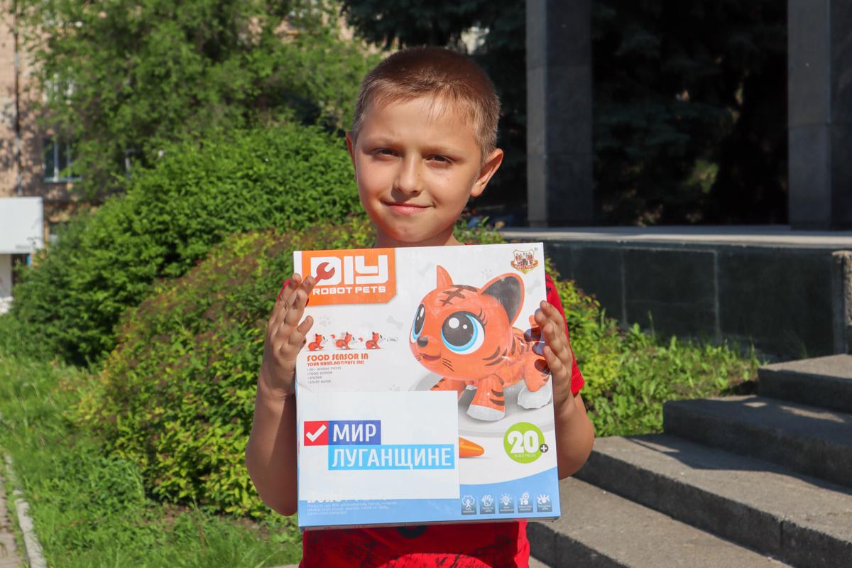 Ребят из прифронтовых городов и районов ЛНР поздравили с Международным днём защиты детей 4