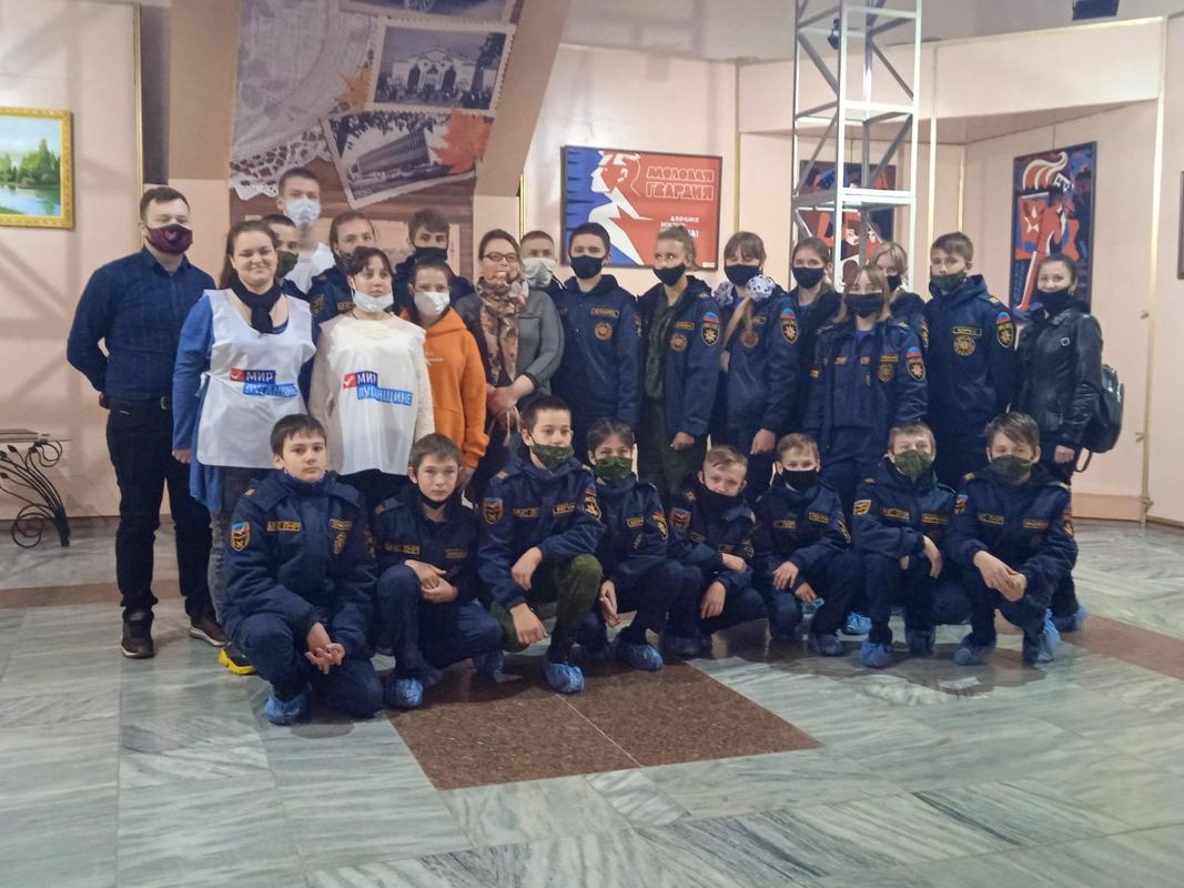 В Свердловске состоялось торжественное открытие экспозиции «Луганская Народная Республика»