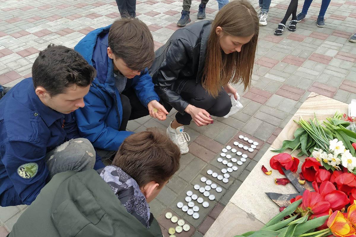 Память погибших в Одессе почтили жители разных городов ЛНР