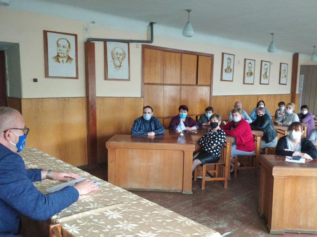 В Стаханове состоялась встреча активистов первичного отделения
