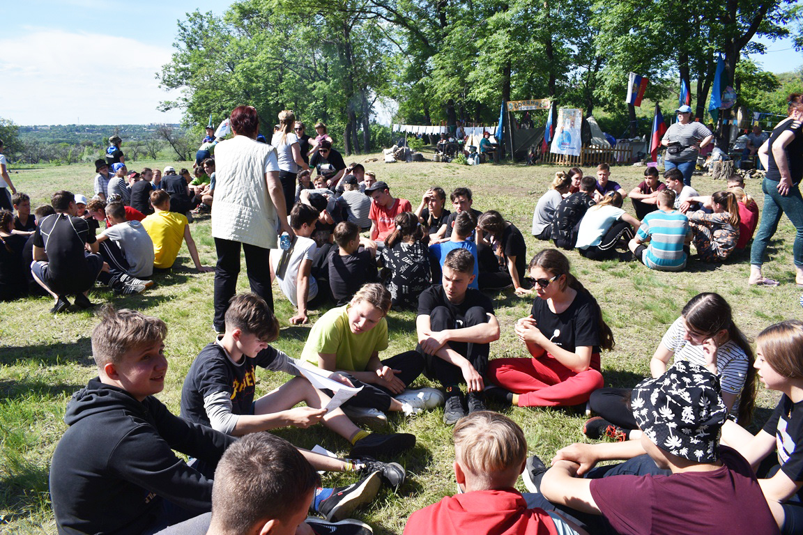 В Брянке прошла военно-спортивная игра «Зарница – 2021» 6