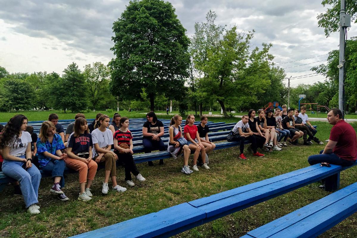 Волонтёры Перевальска приняли участие в неформальной молодёжной конференции