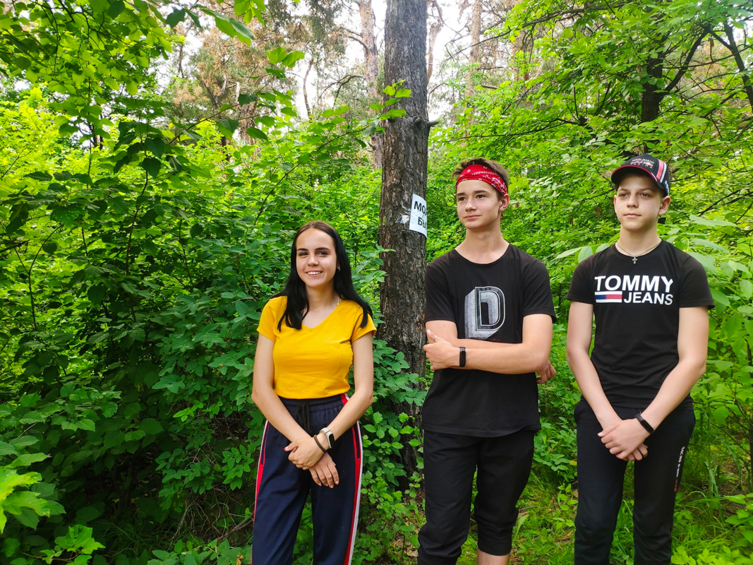 В Краснодоне активисты проекта «Молодая Гвардия» организовали туристический поход