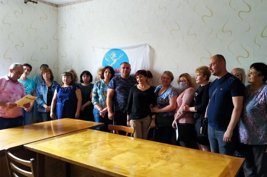 К Брянковскому теротделению ОД «Мир Луганщине» присоединились два новых активиста 1
