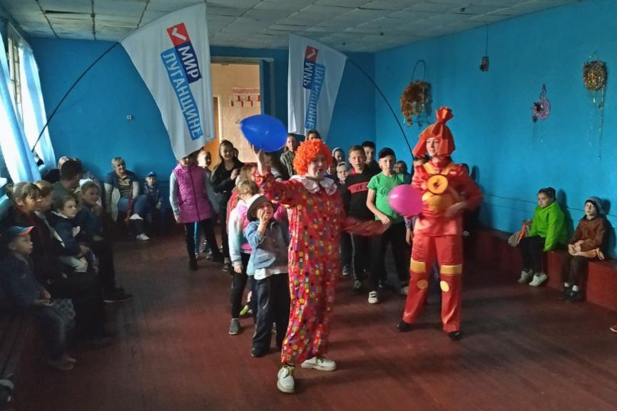 Детей поздравили с Международным днём защиты детей в разных городах ЛНР 6