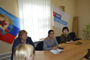 Депутат Белла Демешко встретилась с жителями города Ровеньки 4