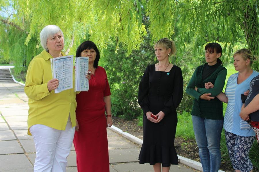 Депутат Светлана Гизай встретилась с жителями села Хорошее 1