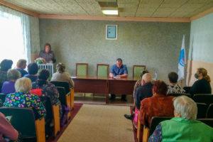 В поселке Запорожье состоялся «Парламентский час» с депутатом