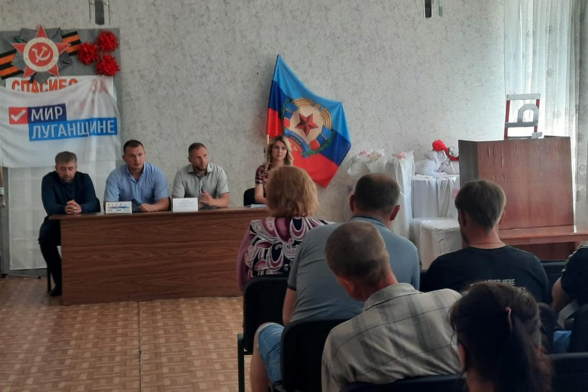 В рамках проекта «Парламентский час» депутат Дмитрий Кукарский встретился с жителями села Червоная Поляна 1