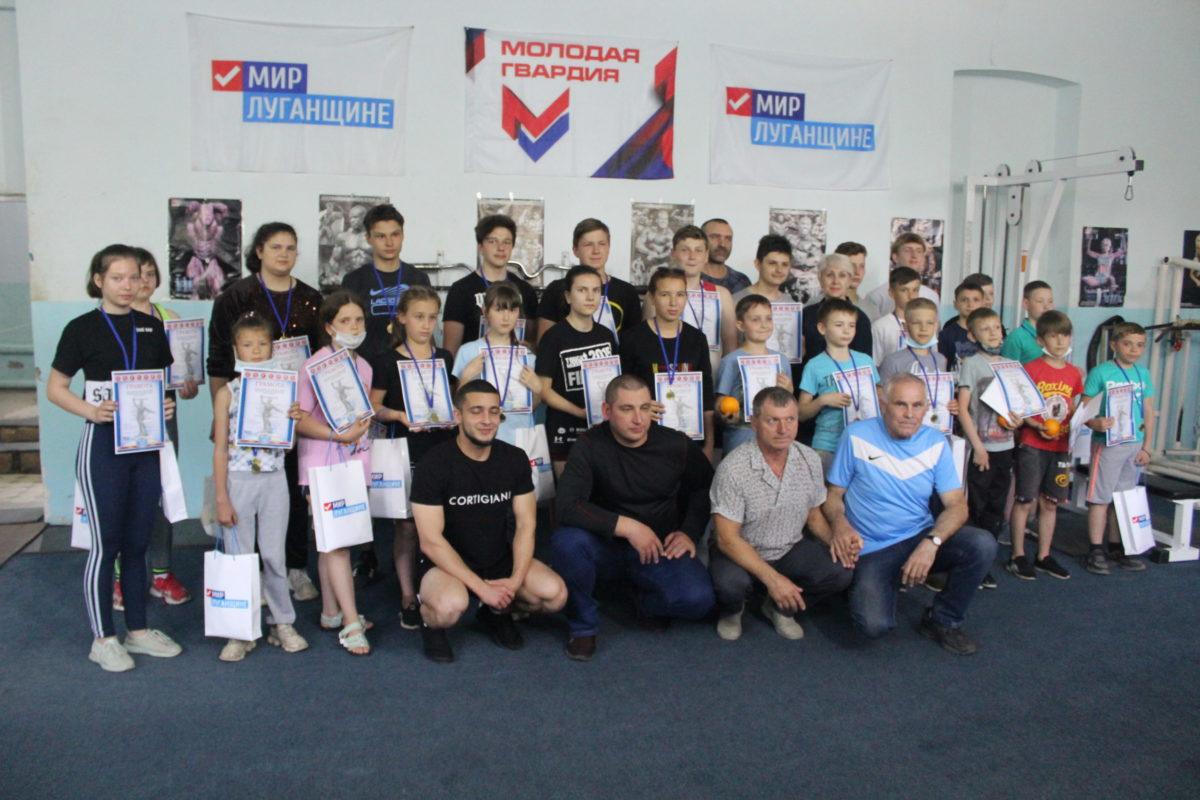 В Славяносербске состоялось первенство по тяжелой атлетике памяти «Комбата»