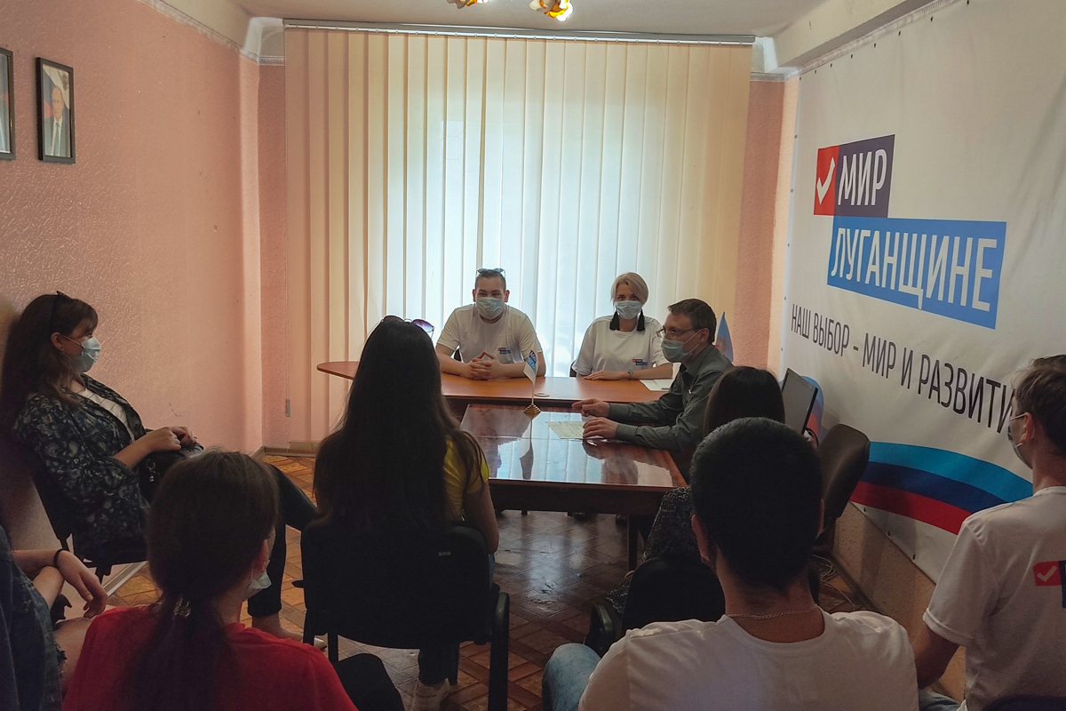 В Алчевске состоялся тематический час к Международному дню невинных детей – жертв агрессии