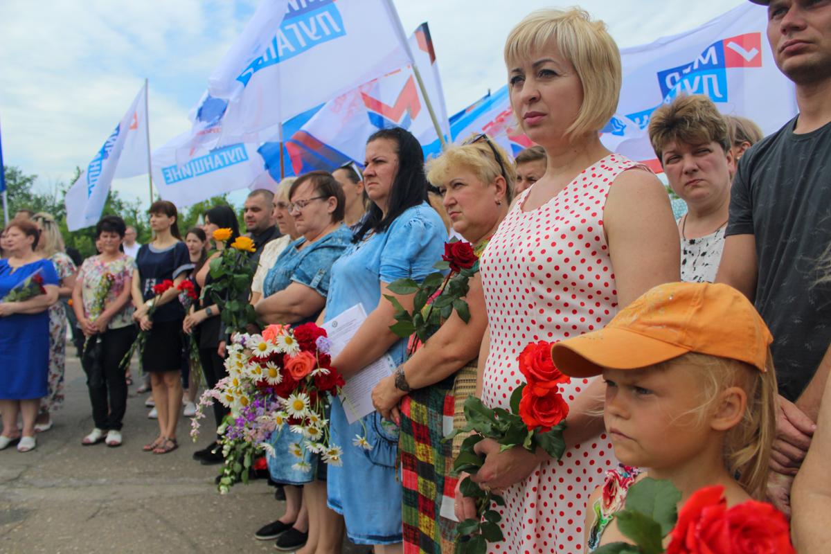 Митинг памяти журналистов ВГТРК состоялся на месте гибели Игоря Корнелюка и Антона Волошина 2
