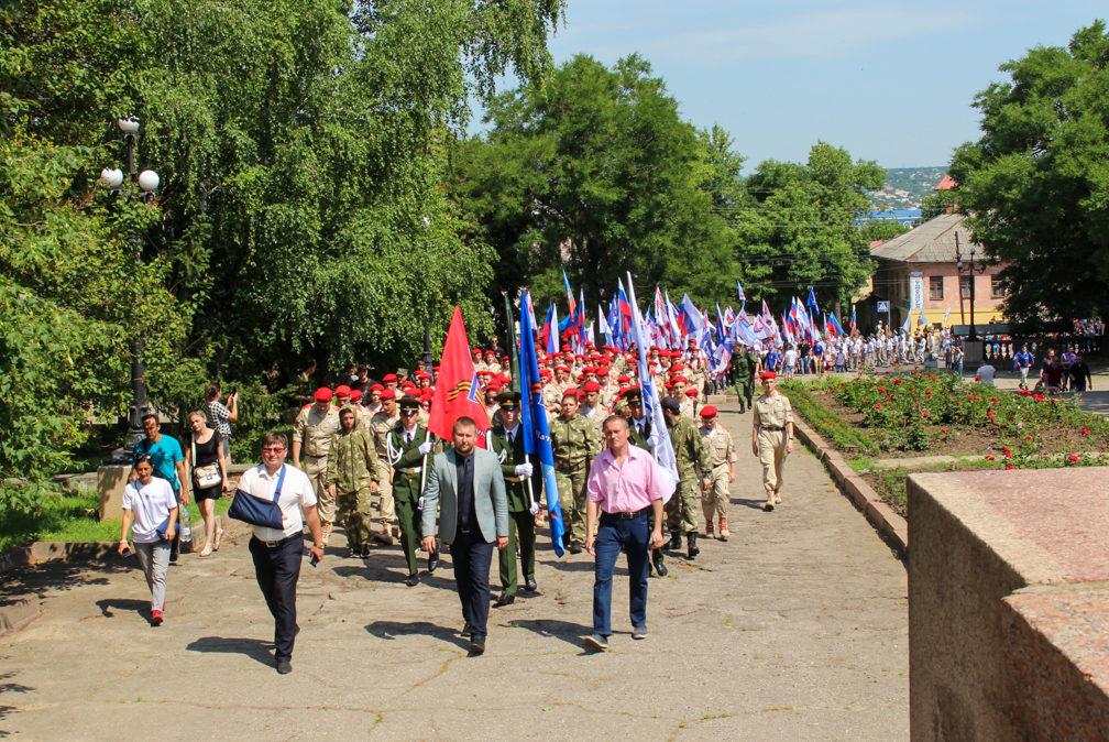 День молодёжи в ЛНР отпраздновали масштабным парадом 1