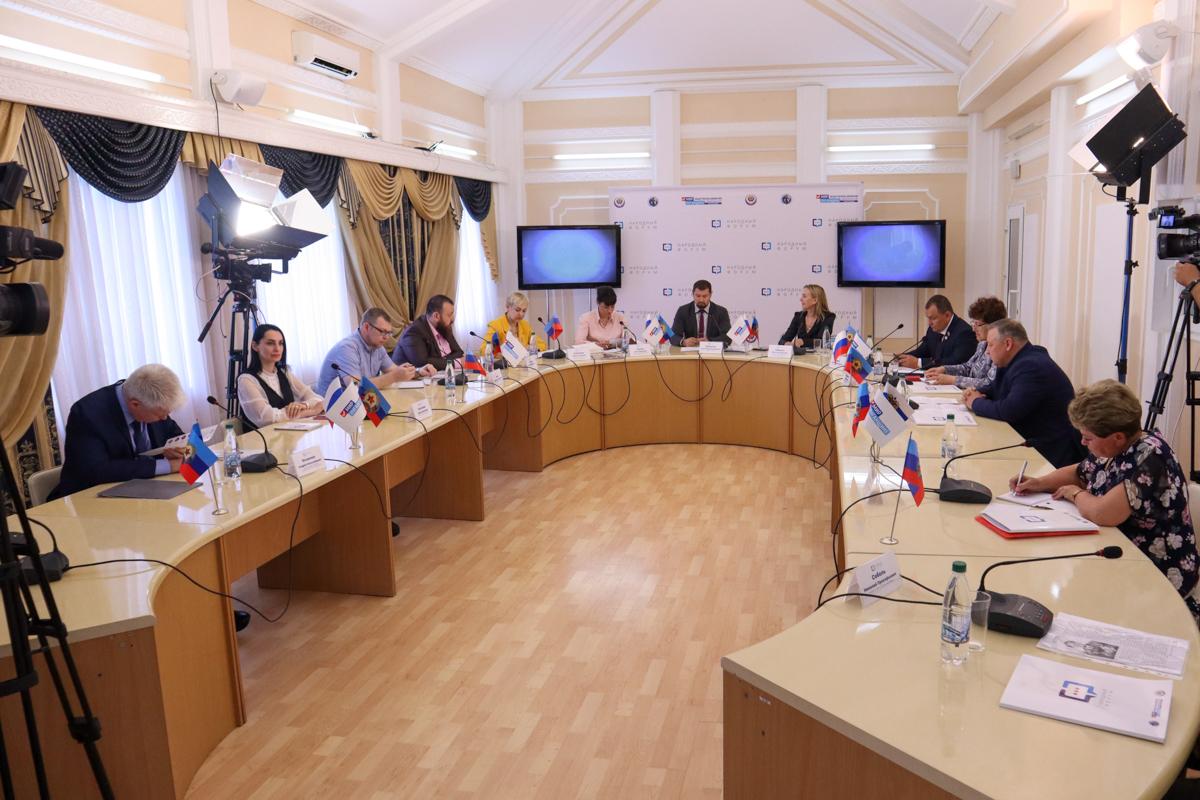 Эксперты из ЛНР и ДНР обсудили тему «Дети гражданской войны» на дискуссионной площадке «Народный форум» 1