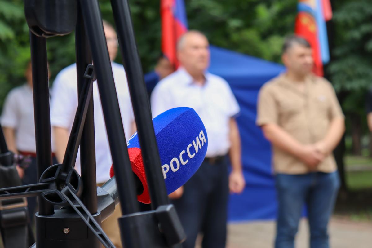 В ЛНР почтили память российских журналистов, погибших из-за миномётного обстрела со стороны ВСУ в 2014 году 3