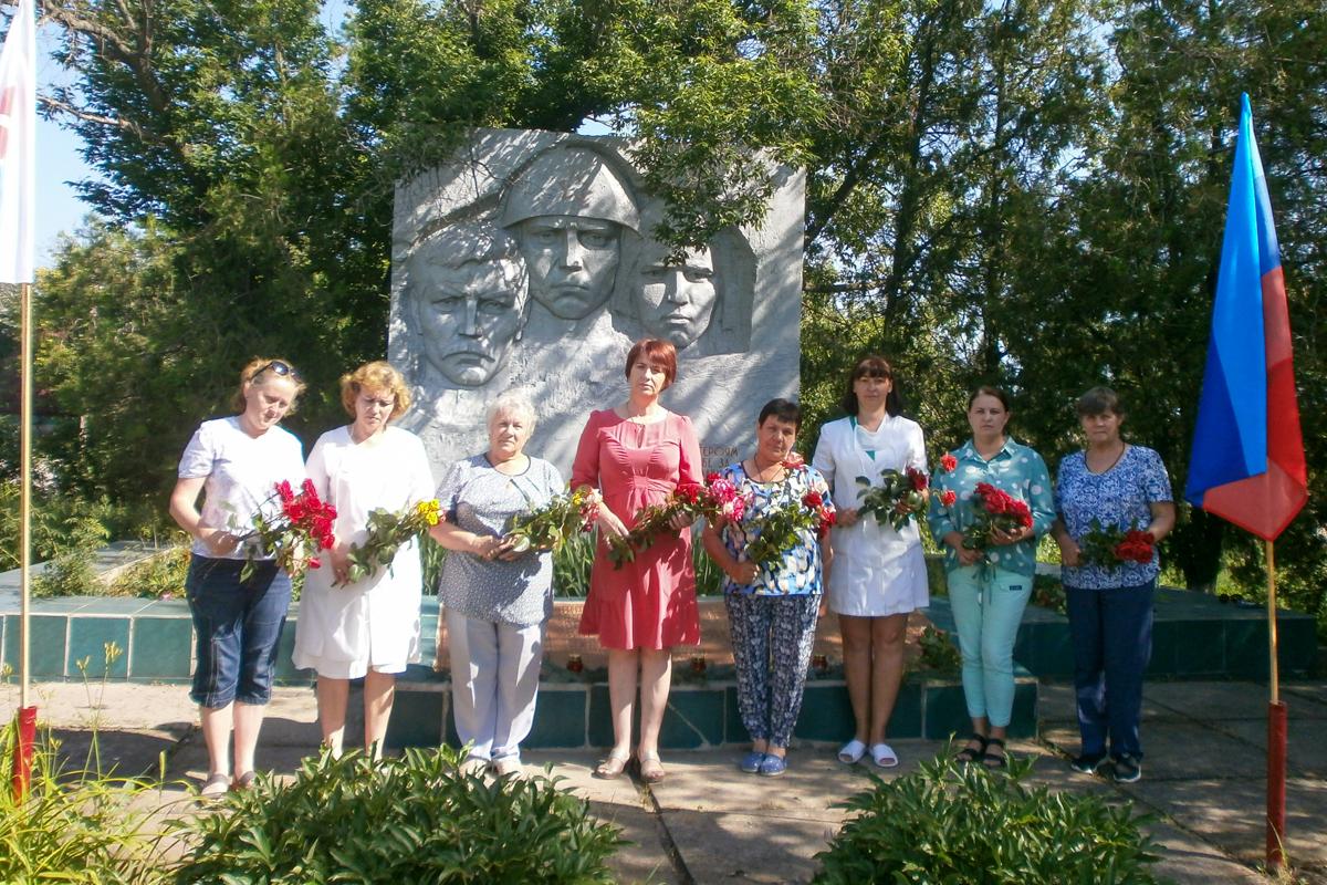 Митинг, посвящённый 80-й годовщине начала Великой Отечественной войны, прошёл в посёлке Жёлтое