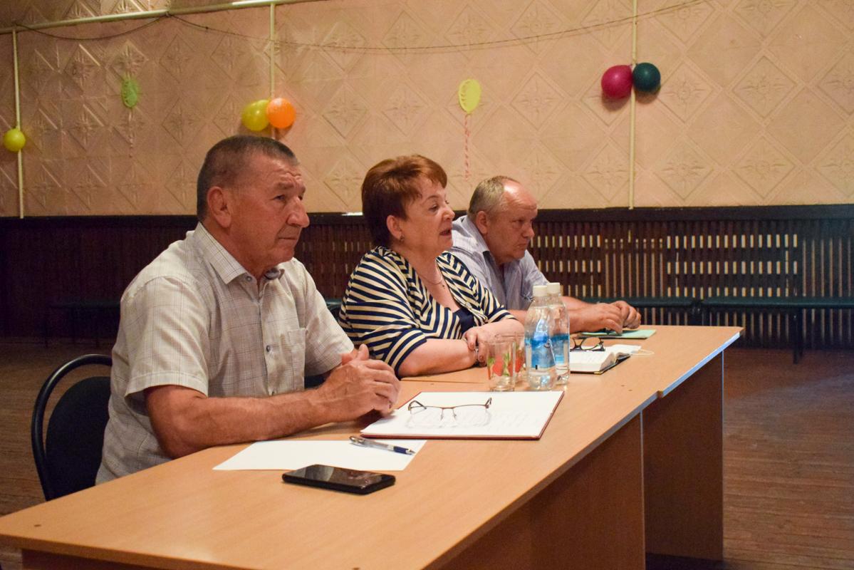 В посёлке Калиново депутат Зинаида Надён провела встречу в рамках проекта «Парламентский час» 2