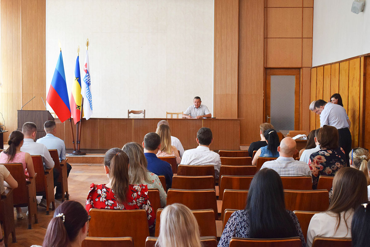 Председатель Первомайского территориального отделения ОД «Мир Луганщине» встретился с активом первички