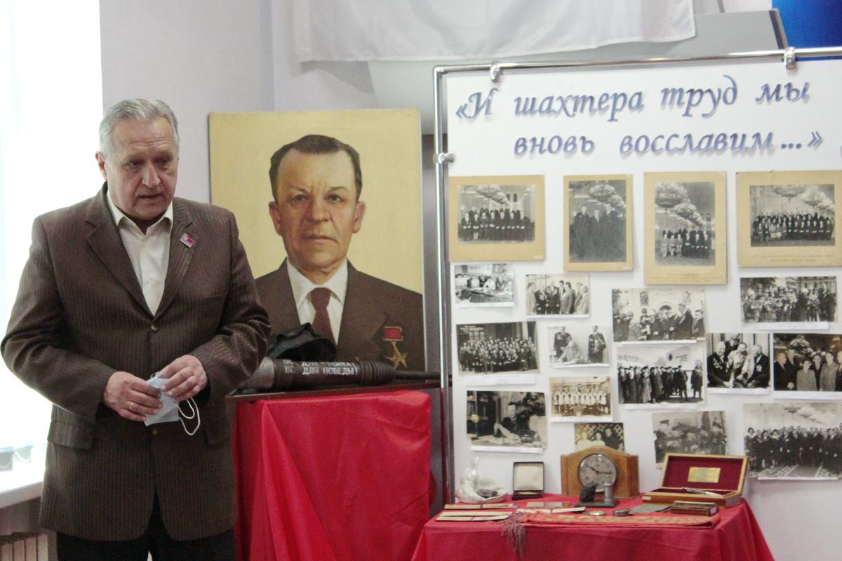 В Ирмино прошла встреча, посвященная Герою Социалистического Труда Петру Синяговскому