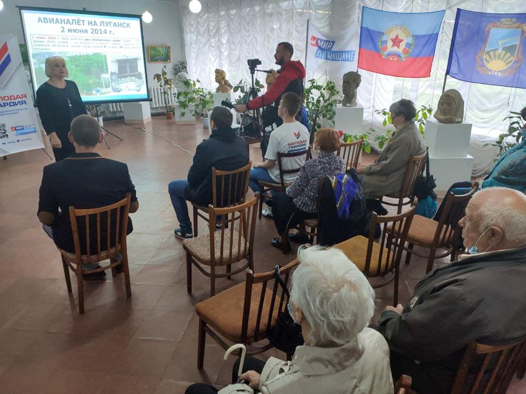 В ЛНР состоялись памятные мероприятия к 7-й годовщине авиаудара ВСУ по центру Луганска 11