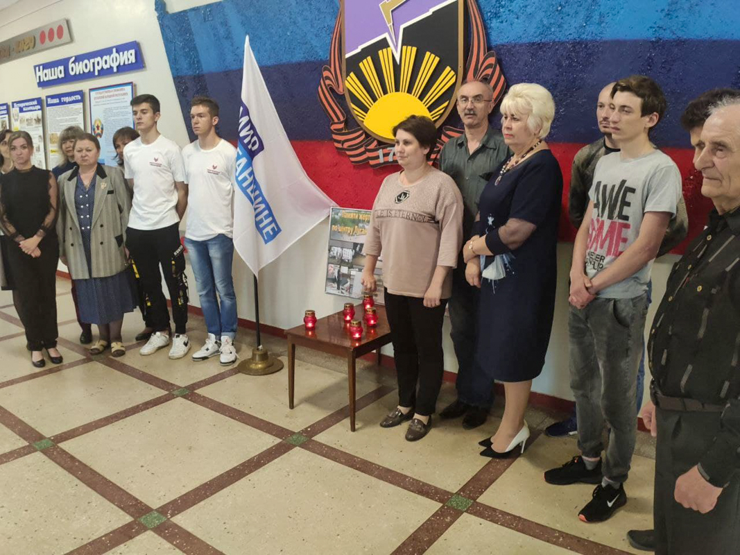 В ЛНР состоялись памятные мероприятия к 7-й годовщине авиаудара ВСУ по центру Луганска 12