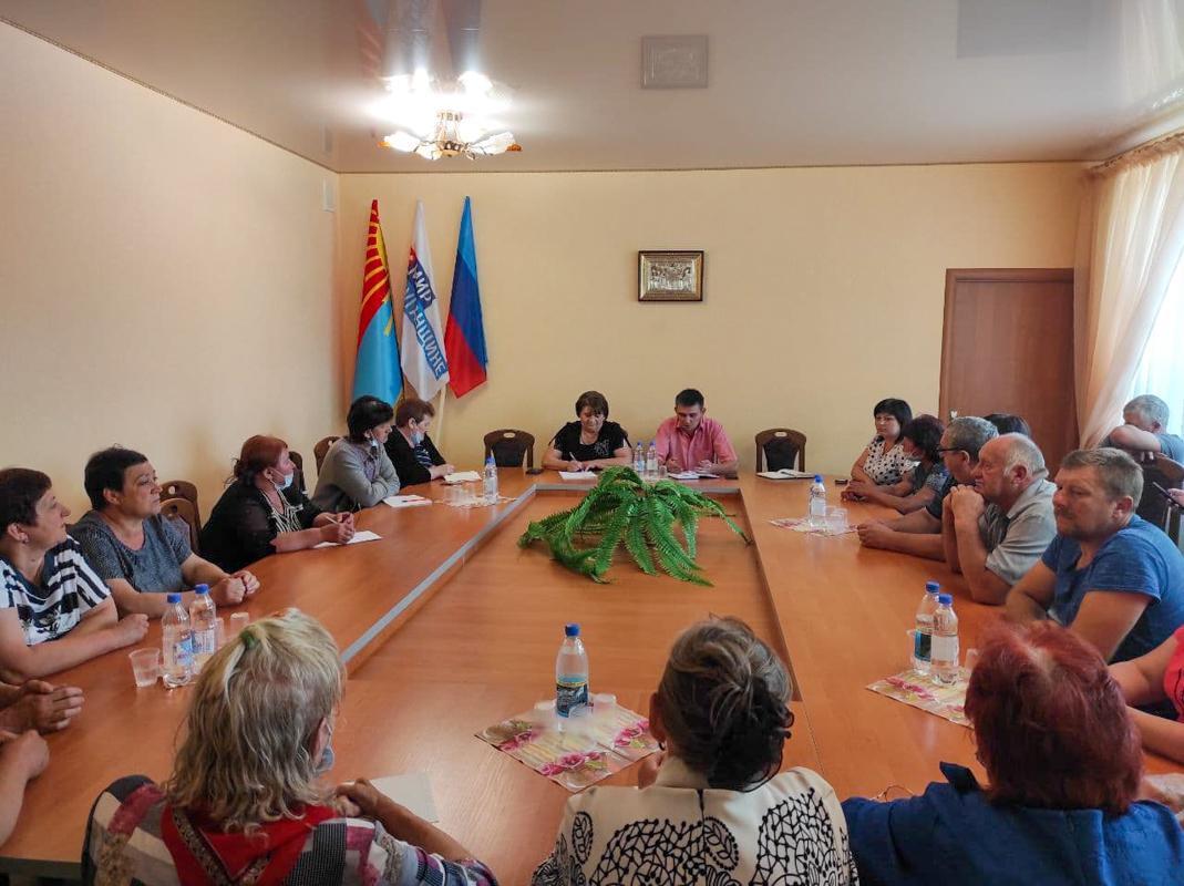 В рамках проекта «Парламентский час» Александр Ермоленко встретился с жителями села Бобриково