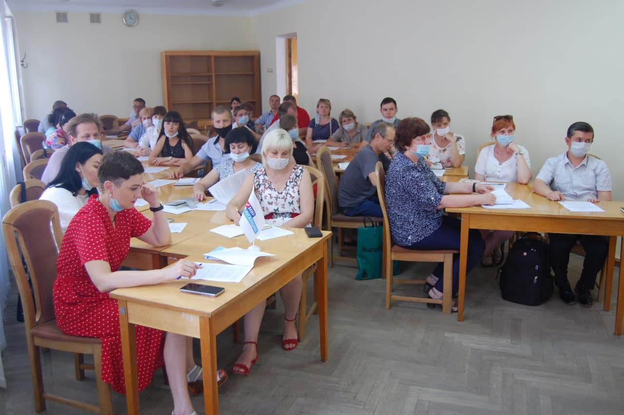 В Стаханове состоялось расширенное заседание Совета теротделения ОД «Мир Луганщине»2