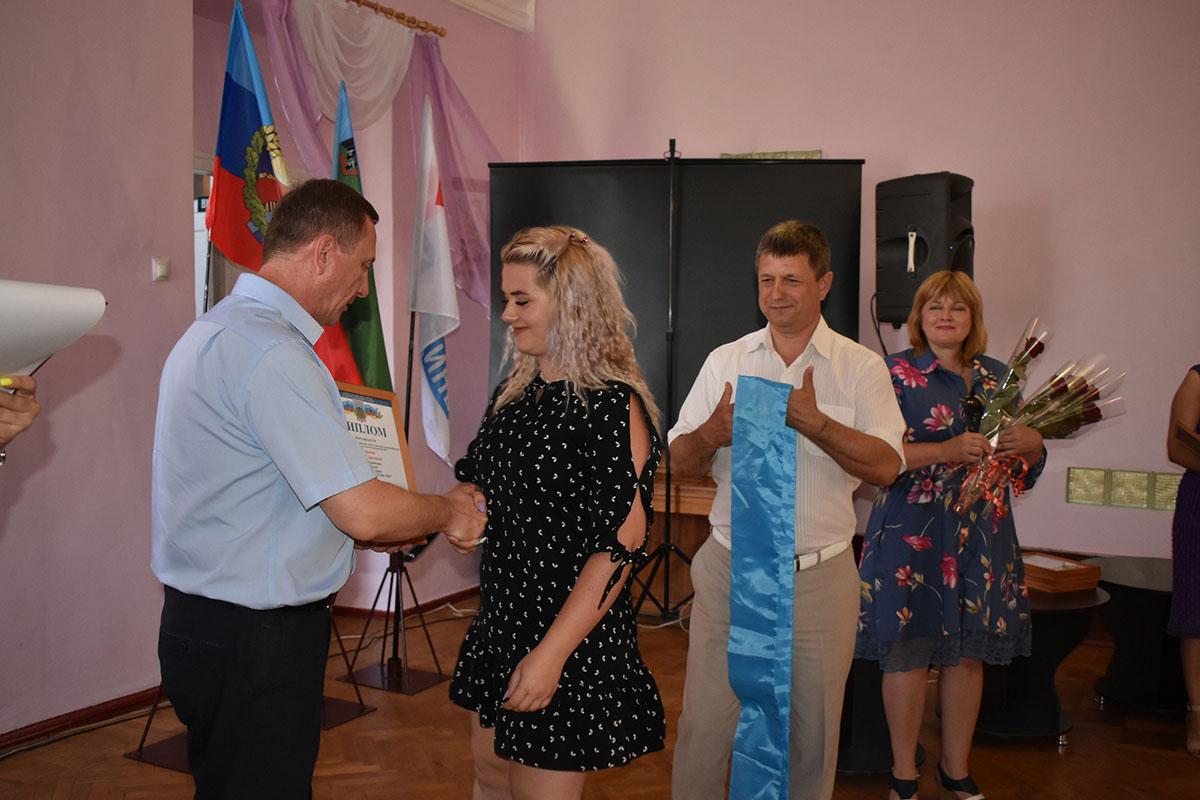 В Брянке наградили победителей конкурса «Молодой человек года-2021»